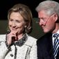 Clinton/Clinton 2016? Hillary Clinton admits she has mulled the possibility of including husband Bill Clinton on a presidential ticket. (Associated Press)