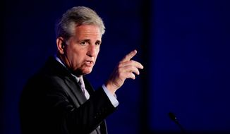 House Majority Leader Kevin McCarthy, California Republican. (Associated Press) ** FILE **