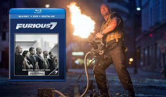 """Dwayne Johnson co-stars in """"Furious 7: Extended Edition"""" from Universal Studios Home Entertainment, now on Blu-ray."""