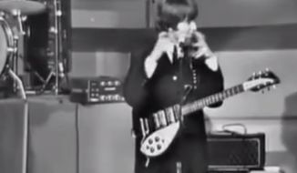 Archival footage showing John Lennon gleefully mocking disabled people while onstage in the 1960s has shocked Beatles fans worldwide. (YouTube/BBC)