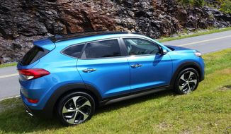 2016 Hyundai Tucson redesigned and offers more passenger room. (Photo by Rita Cook)