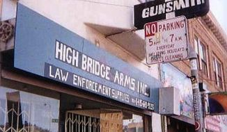 San Francisco's last gun shop High Bridge Arms has been a defiant fixture against the liberal city's suffocating arms policies for more than 60 years, but a new set of regulations is forcing the owners to finally throw in the towel. (highbridgearms.com)