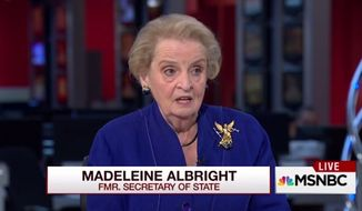 Former U.S. Secretary of State Madeleine Albright weighed in Monday on the email controversy surrounding Hillary Clinton, saying she wouldn't have approved the use of a private email server for officials in her State Department. (MSNBC)