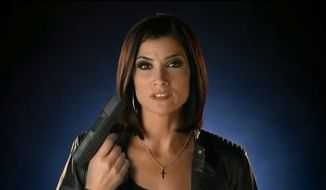 Conservative talk radio host and gun-rights advocate Dana Loesch. (Twitter/@TomAdelsbach)