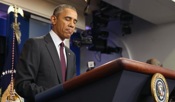 An outraged President Obama weighed in Thursday night on the side of more restrictive gun laws, a position many Democratic lawmakers support. (Associated Press)