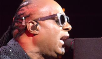 Stevie Wonder performed Saturday evening at Washington, D.C.'s Verizon Center for nearly four hours.   (Eric Althoff)
