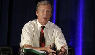 Tom Steyer sank $87.6 million into Democratic campaigns in 2016, but only three of the seven federal candidates he backed won their races. (Associated Press)