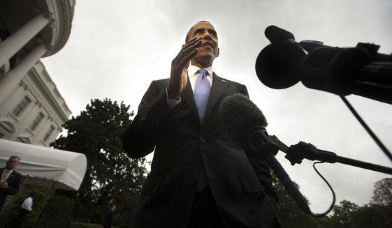 Time and again in recent weeks, Mr. Obama has launched into an unsolicited, spirited defense of his record, in a tone that sometimes betrays a deep annoyance with the Republicans' attacks against him. (Associated Press)