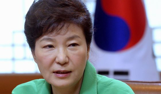 South Korean President Park Geun-hye must balance Seoul's alliance with Washington with being excluded from the TPP Pacific trade deal. (Associated Press)