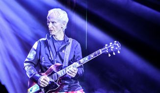 Robby Krieger performs as part of the eighth annual Scott Medlock - Robby Krieger Invitational & All-Star Concert benefiting St. Jude Children's Research Hospital.  (Bo Roberts)
