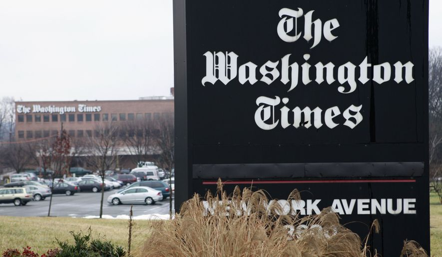 The Washington Times announced Wednesday it achieved in September the first profitable month in its 33-year history, successfully transforming a traditional money-losing print publication into a leaner multimedia company with diverse revenue streams and a growing national audience. (Associated Press)