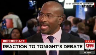 "Former Obama administration czar Van Jones compared Hillary Clinton to pop star Beyonce for her ""flawless"" performance during Tuesday night's Democratic presidential debate. (CNN)"