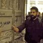 """Artists hired by Showtime's """"Homeland"""" to draw graffiti on one of its sets in Berlin are taking credit for Arabic messages calling the show racist, which were captured onscreen during a recent episode unbeknownst to the show's creators. (Showtime via @annieslem)"""