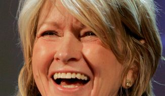 Martha Stewart. (Associated Press)