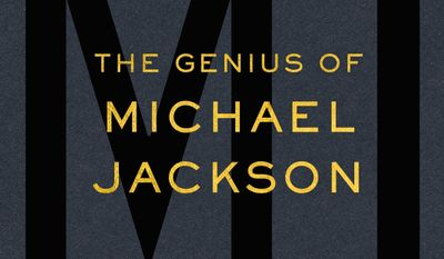 "This photo provided by Scribner/Simon & Schuster shows the cover of the book, ""MJ: The Genius of Michael Jackson,"" by author Steve Knopper. (Scribner/Simon & Schuster via AP)"