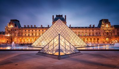 The Louvre Museum - Paris, France