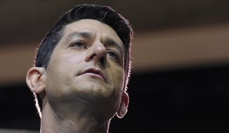 Rep. Paul Ryan, Wisconsin Republican, gave members until Friday to decide whether they agree with his vision for the party, one that includes trumpeting big ideas, making clear policy choices and a cooperative effort to change the way the House operates. (Associated Press)