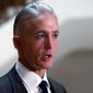 House Select Committee on Benghazi Chairman Trey Gowdy, South Carolina Republican, will focus his inquiries on former Secretary of State Hillary Rodham Clinton's failures in Libya Thursday during her testimony. (Associated Press)