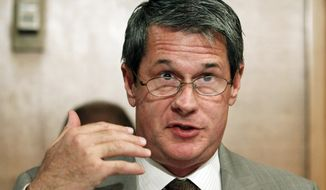 Sen. David Vitter, R-La., speaks on Capitol Hill in Washington, in this Aug. 3, 2010, file photo. (AP Photo/Manuel Balce Ceneta, File)