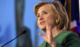 How Hillary Rodham Clinton handles herself on Thursday could go a long way toward shaping Americans' views of her as she prepares to ask voters to trust her with the White House. (Associated Press)