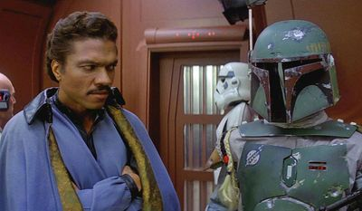 Once a smooth-talking smuggler, Lando Calrissian (Billy Dee Williamd changed from a get-rich-quick schemer to a selfless leader in the fight against the Empire.