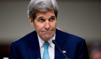Secretary of State John Kerry. (Associated Press) ** FILE **