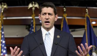 Rep. Paul Ryan had been reluctant to give up his role as head of the tax-writing Ways and Means Committee and precious weekends with his family, so he demanded support from every wing of the party by Friday. (Associated Press)