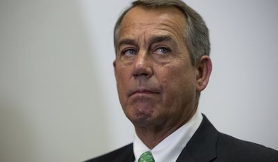 """The deal marks outgoing House Speaker John A. Boehner's last chance to try to win cuts to entitlement spending. Mr. Boehner had promised to try to """"clean the barn"""" of thorny issues so his successor could have smoother sailing. (Associated Press)"""