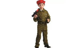 Wal-Mart is stirring controversy over questionable Halloween costumes by allowing for the third-party sale of an Israeli soldier costume for children. (Wal-Mart)