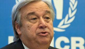 In the face of a concerted lobbying effort to name a woman to the post, the U.N. Security Council Wednesday voted without dissent to make former Portuguese Prime Minister Antonio Guterres, the world body's top official dealing with refugees for the past decade, the next secretary-general. (Associated Press)