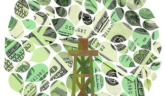 Power of American Energy Illustration by Greg Groesch/The Washington Times
