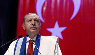Observers say Turkish President Recep Tayyip Erdogan is doubling down on the heavy-handed tactics that have kept him in power for the past 12 years even if his ruling party fails again Sunday to secure a majority. (Associated Press)