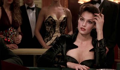1995, GoldenEye, Famke Janssen as Xenia Onatopp