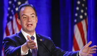 """While I was proud of our candidates and the way they handled tonight's debate, the performance by the CNBC moderators was extremely disappointing and did a disservice to their network, our candidates, and voters,"" RNC Chairman Reince Priebus said in a statement. (Associated Press)"