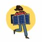 """The Department of Energy is urging children to dress up as solar panels and wind turbines for Halloween in a green initiative it's dubbing """"Energyween."""" (Department of Energy)"""