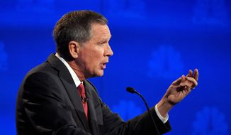 Republican presidential candidate, Ohio Gov. John Kasich has pinned his presidential hopes on the early primary state, New Hampshire. (Associated Press)