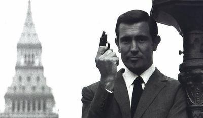 How many times did George Lazenby play the part of 007?