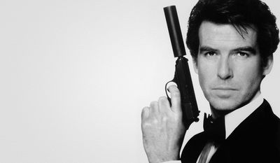 How many times did Pierce Brosnan play James Bond?
