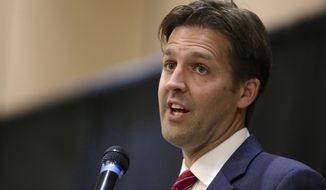 Sen. Ben Sasse, Nebraska Republican. (Associated Press/File)