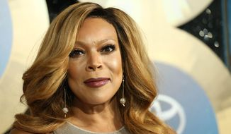 TV talk show host Wendy Williams arrives during the 2014 Soul Train Awards in Las Vegas, in this Nov. 7, 2014, file photo. (Photo by Omar Vega/Invision/AP, File)