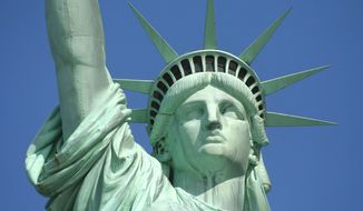 Statue of Liberty, a symbol of America - which Republicans say is still the 'greatest nation on Earth.' (National Park Service)