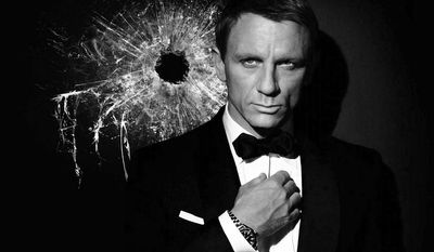 "Daniel Craig returns for his fourth outing as James Bond in ""Spectre."""