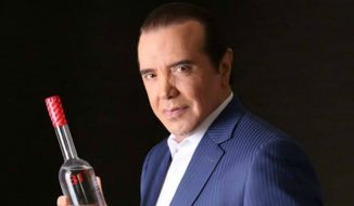 Actor Chazz Palminteri has his own signature brand of vodka, BiVi.  (swineandswill.com)