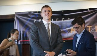Project Veritas President James O'Keefe. (Associated Press) ** FILE **