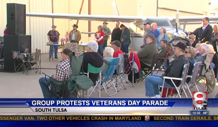 A Tulsa, Oklahoma group called Confederate Veterans Lives Matter said it is filing a complaint against the city after it was denied a chance to participate in Wednesday's Veterans Day Parade. (KTUL)