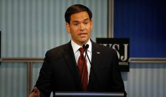 Sen. Marco Rubio said if businesses are required to pay higher wages than the market warrants, it will force them to turn toward more automation to save costs. (Associated Press)