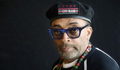 In this Wednesday, Oct. 7, 2015, photo, filmmaker Spike Lee poses for a portrait in Beverly Hills, Calif. (Photo by Chris Pizzello/Invision/AP)