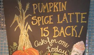 The pumpkin spice economy has arrived, according to Forbes.