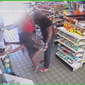 """Video surveillance footage of a woman performing an unwanted """"twerking"""" dance on a man at a Shell gas station convenience store in Northeast D.C. on Saturday."""