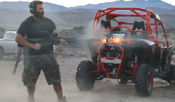 Hollywood star Dan Bilzerian says LAPD took his guns without warrant